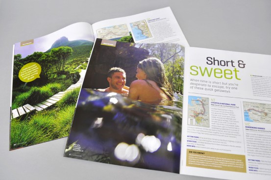 Hardie Grant Magazines for Tourism Australia Short and Sweet