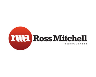 Ross Mitchell and Associates logo design